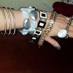 Lots of 7 bracelets